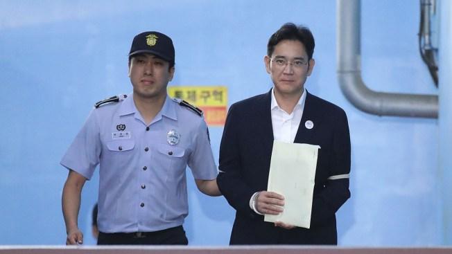 Prosecutors Demand 12-Year Prison Term for Billionaire Samsung Heir