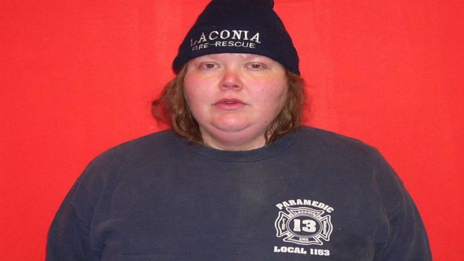 Woman in Pajama Pants Arrested for Stealing Fireman's Bag