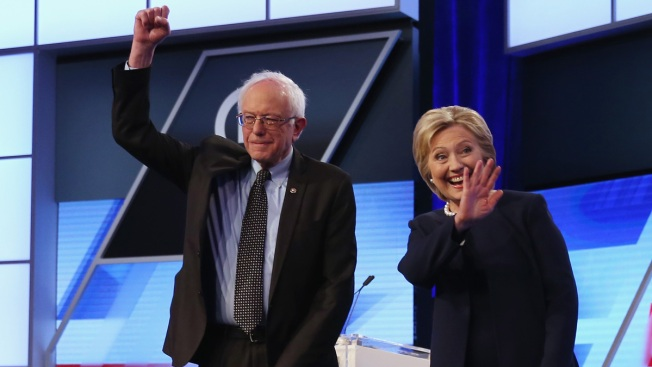 Sanders Holding Rally for Clinton in Portland, Maine