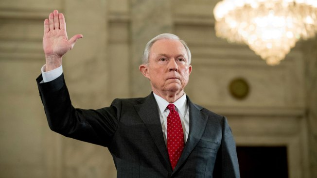 It's Jeff Sessions' turn in the hot seat