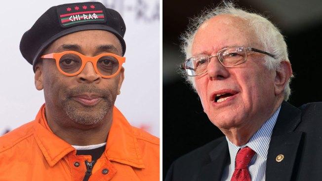 Spike Lee Endorses Bernie Sanders