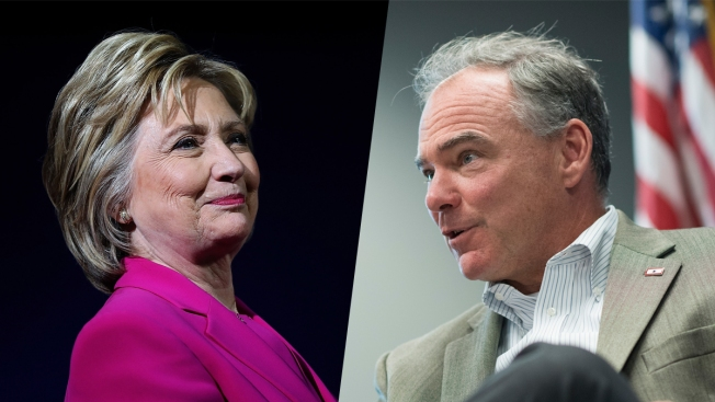After Long Wait, Clinton Reveals Tim Kaine as VP Pick