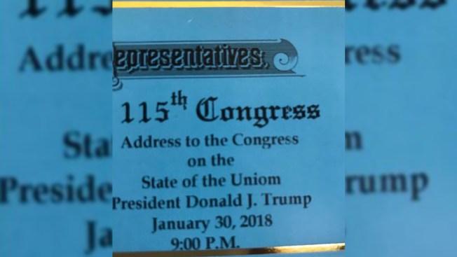 Make America Great Agaim: Union Misspelled as 'Uniom' on Trump Speech Tickets