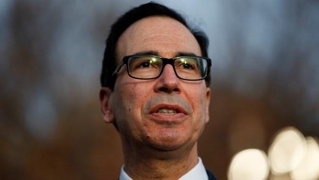 Mnuchin Says He'll 'Follow the Law' on Trump Tax Returns