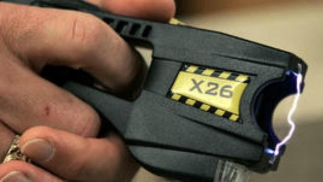 Police Use Stun Gun on Suspect