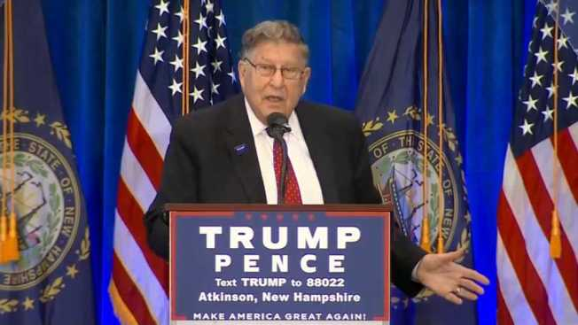 Trump Surrogate Sununu Jokes That Bill Clinton Was Talking About Hillary When He Said 'I Did Not Have Sex With That Woman'