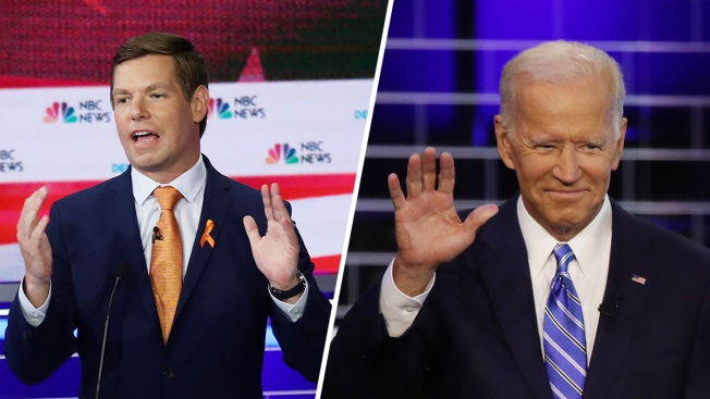 Swalwell, 38, Suggests 76-Year-Old Biden Should 'Pass the Torch'