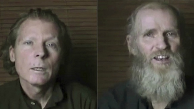 Taliban release video of American university lecturers, demanding prisoners release