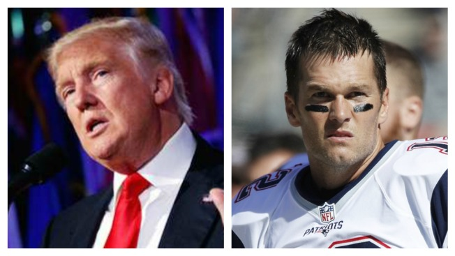 Donald Trump Says Tom Brady is 'Totally Innocent' in Deflategate