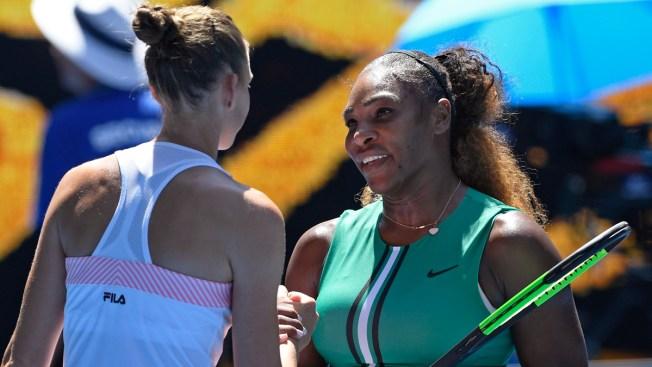 1 Point Away, Serena Stunned by Pliskova at Australian Open