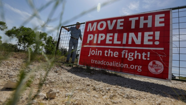 Unlikely Alliance Fighting Pipeline in Texas Hill Country