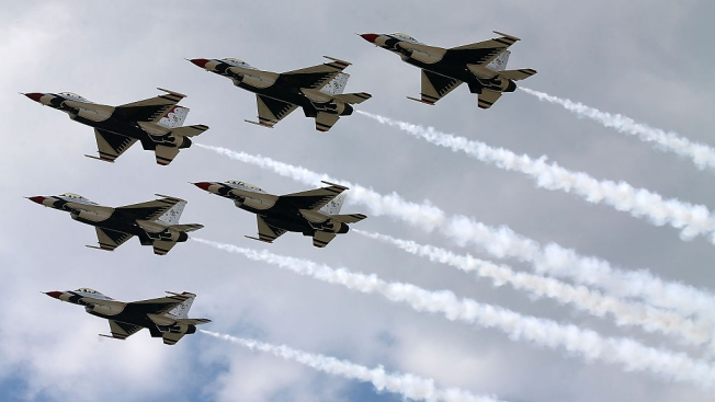 The U.S. Air Force Thunderbirds Cancel Appearance in Rhode Island Air Show