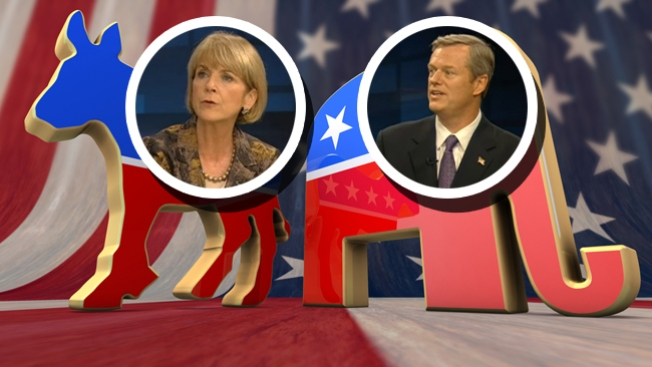 Charlie Baker, Martha Coakley Wrangle Over Issues in Final Massachusetts Gubernatorial Debate