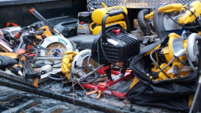 Power Tools, Golf Cart, Other Stolen Equipment Recovered in New Hampshire