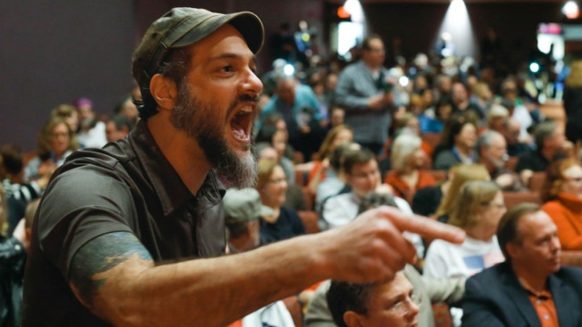 Lawmakers Try to Keep Town Halls From Getting Out of Control