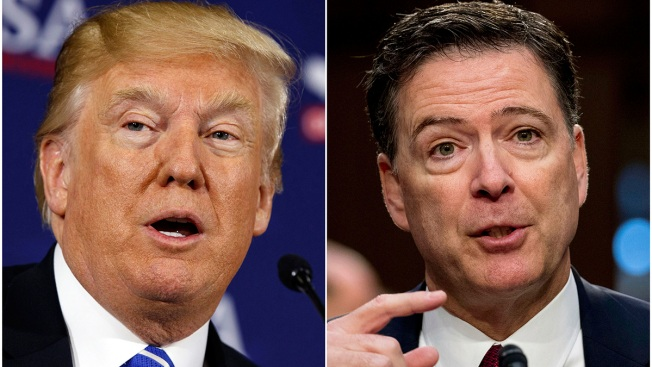 Trump Wanted to Prosecute Comey, Hillary Clinton: Report