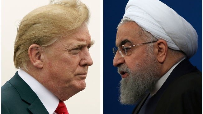 Trump: Sanctions Reinstated Against Iran for 'World Peace'
