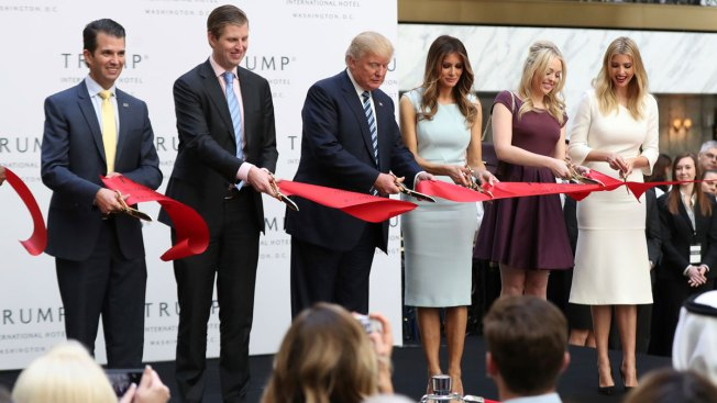 Trump Children's Roles Blur Line Between Transition, Company
