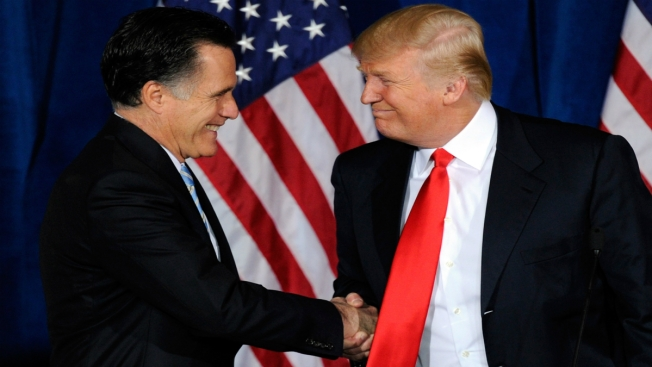 Trump to Meet with Mitt Romney Today