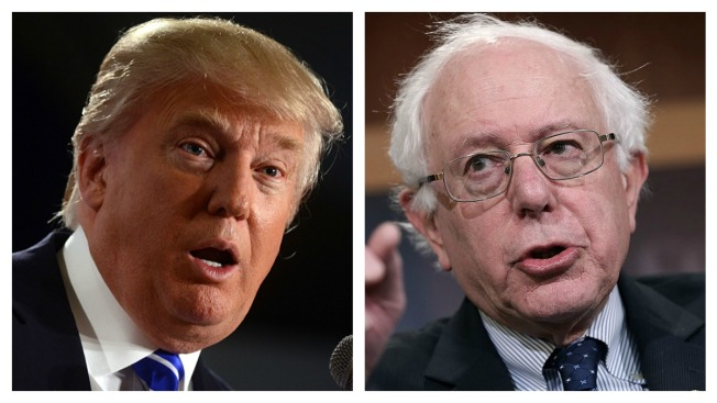 Donald Trump, Bernie Sanders Surging in New Hampshire