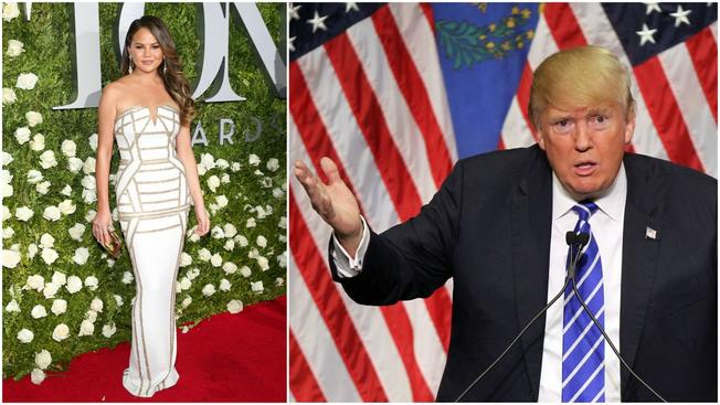 You're Blocked! Teigen Latest Celeb Twitter Barred by Trump