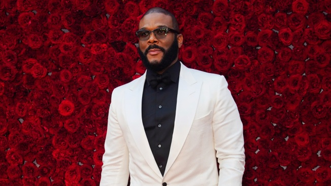 Tyler Perry Christens New Studio With Help of Oprah, Others