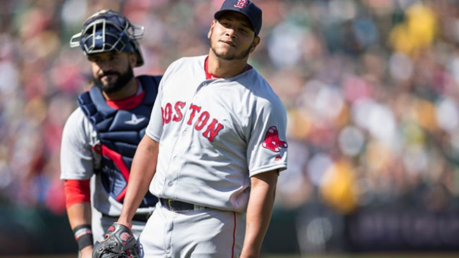 Red Sox Put LHP Eduardo Rodriguez on DL After Fall in Bullpen