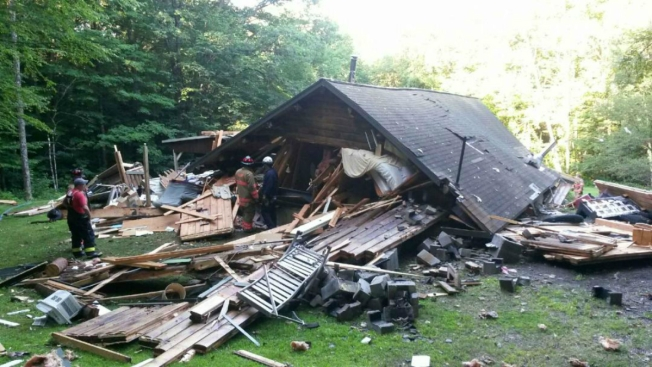Man Survives After Home 'Completely Exploded'