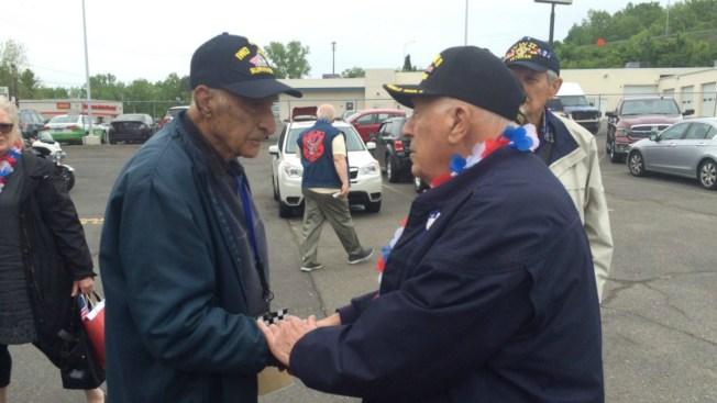 Iwo Jima Survivors Honored