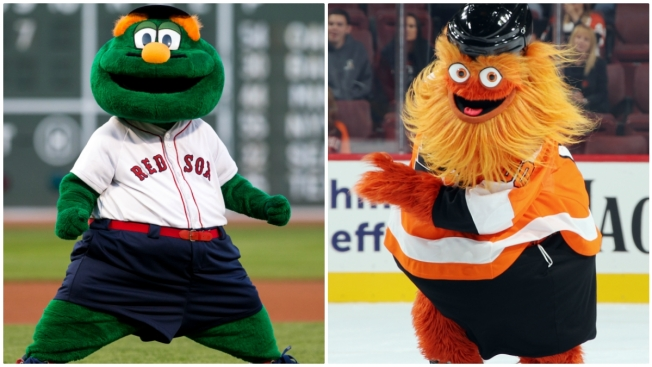 Boston, Philadelphia Mascots Roast Each Other on Social Media