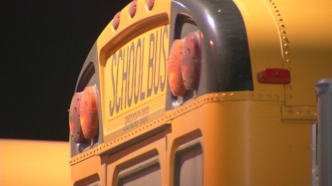 1 Student Hurt When School Bus Crashes in Conn.