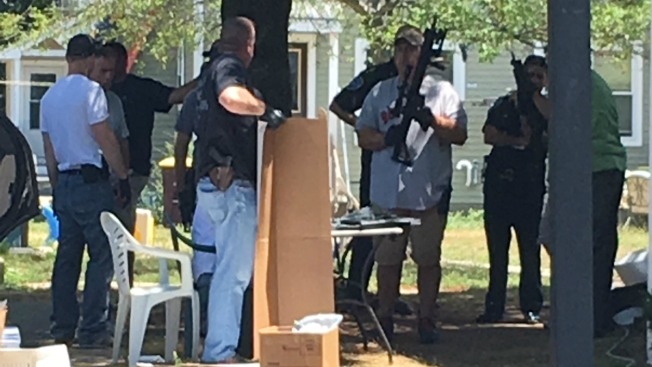 Weapons Removed From Home in Weymouth, Massachusetts