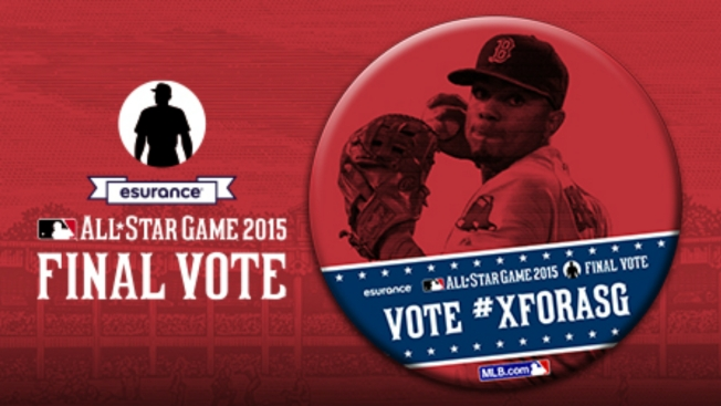 Boston Red Sox Pushing #XforASG