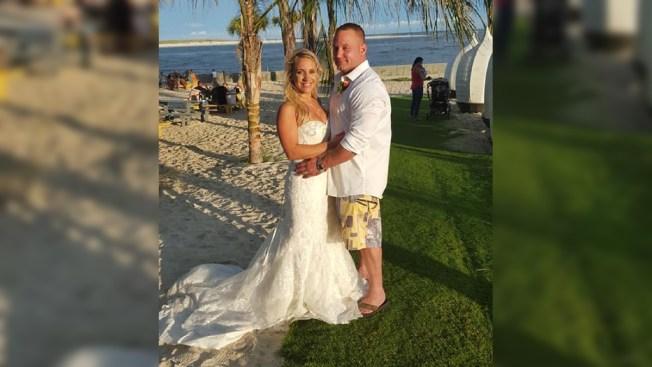 Wet Wedding: Just-Married Coast Guardsman Saves Struggling Swimmer