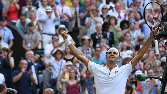 Federer Tops Nadal, Reaches 12th Wimbledon Final