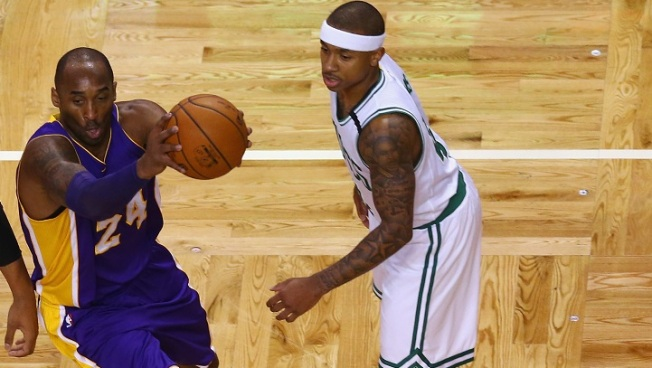 Isaiah Thomas Getting Help From Kobe Bryant