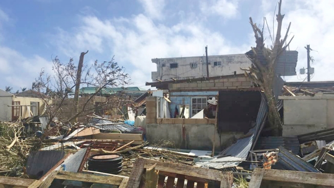 US Sends Aid to Pacific Islands Devastated by Huge Typhoon