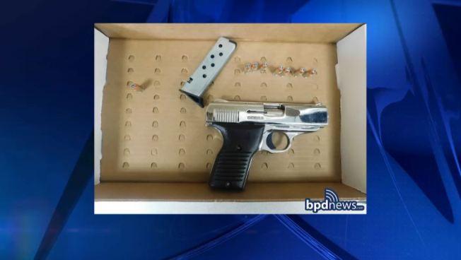 2 Men Arrested After Boston Police Find Loaded Gun