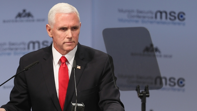 Pence Says US Wants Maduro Out And 'All Options' On Table