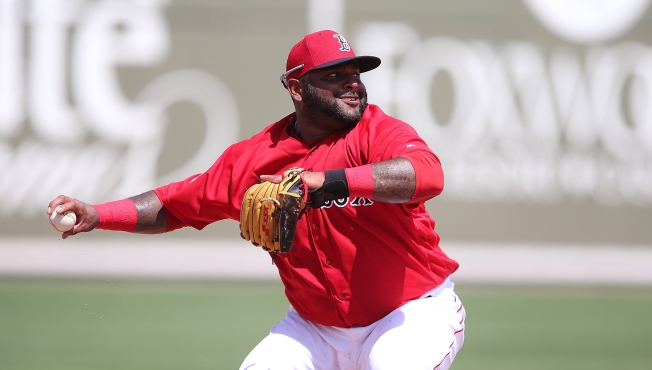 Pablo Sandoval Has Injured Back, Out of Red Sox Lineup