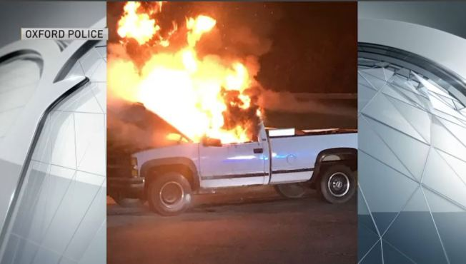 Mass. Police Investigating Overnight Car Fire