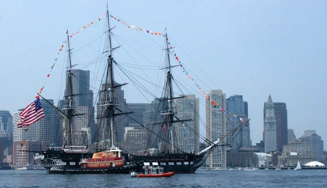 USS Constitution Pays Tribute to Vietnam War Veterans