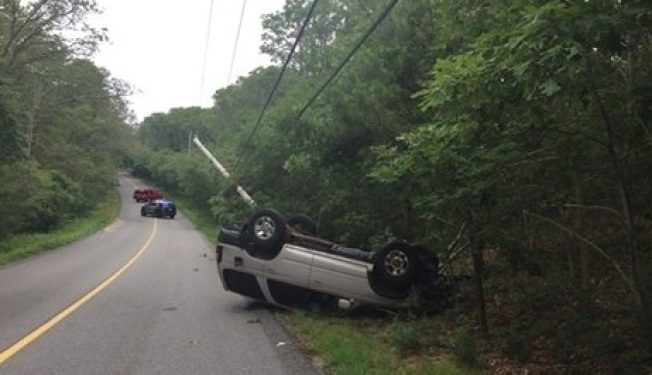 Man overdoses on heroin while driving in Falmouth, crashes