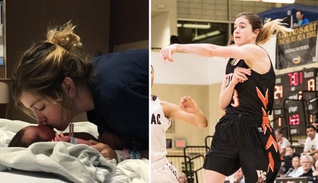 Calif. Student Balancing Motherhood, Basketball Draws Recruits