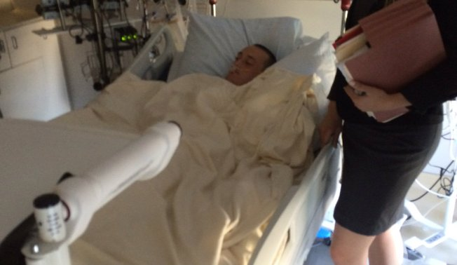 Knife-Wielding Stabbing Suspect Arraigned From Hospital Bed