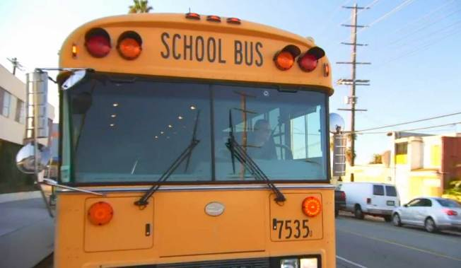 School bus company says meeting with drivers was productive