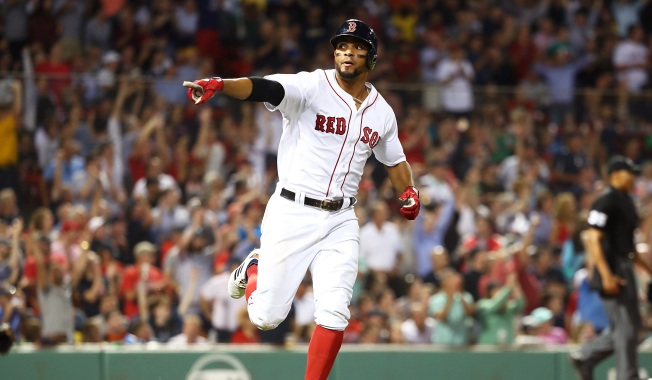 Bogaerts Hits 2 Solo Home Runs, Red Sox Beat Indians 10-4