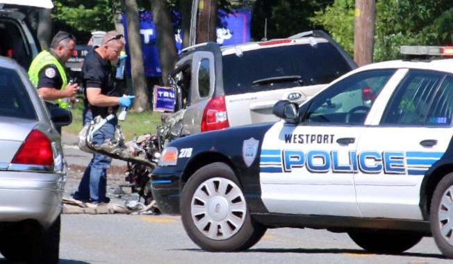 1 Dead in Head-on Crash in Westport, Massachusetts