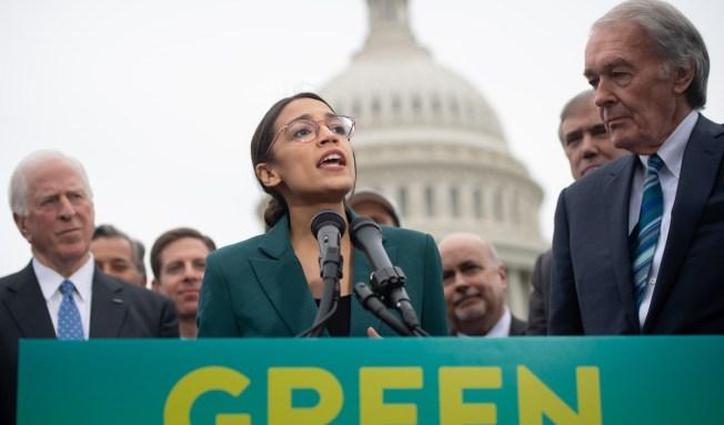 US Rep. Alexandria Ocasio-Cortez Endorses Sen. Ed Markey as Rep. Joe Kennedy Mulls Senate Run