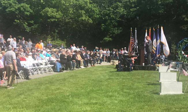Mayor Marty Walsh Commemorates Servicemembers in Memorial Day Service